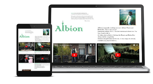 Website Albion Rock