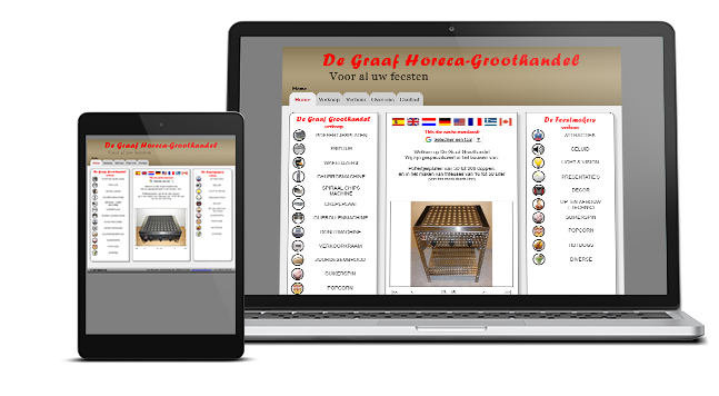 Website De Feestmakers